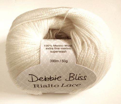 Debbie Bliss Rialto lace - Ivory